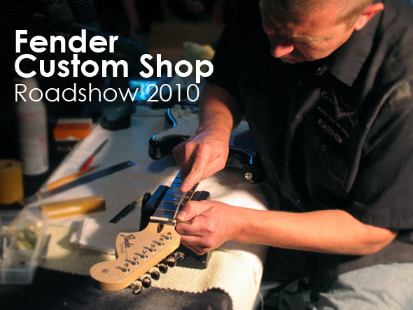 Fender Custom Shop Roadshow 2010: Live Guitar Build