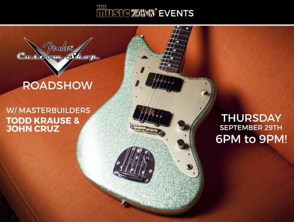 2016 Fender Custom Shop Roadshow Event At The Music Zoo