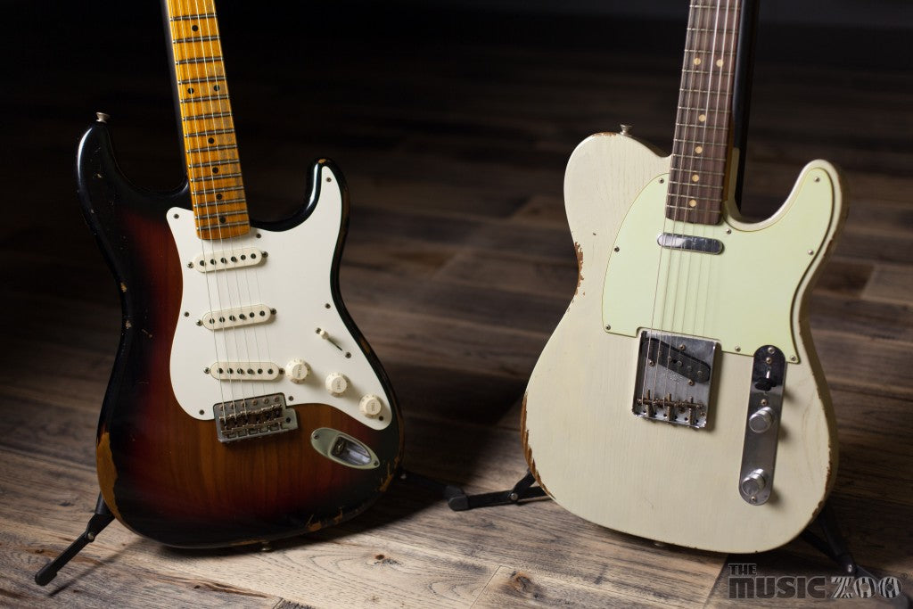 Fender Custom Shop Roasted Guitars Now At The Zoo