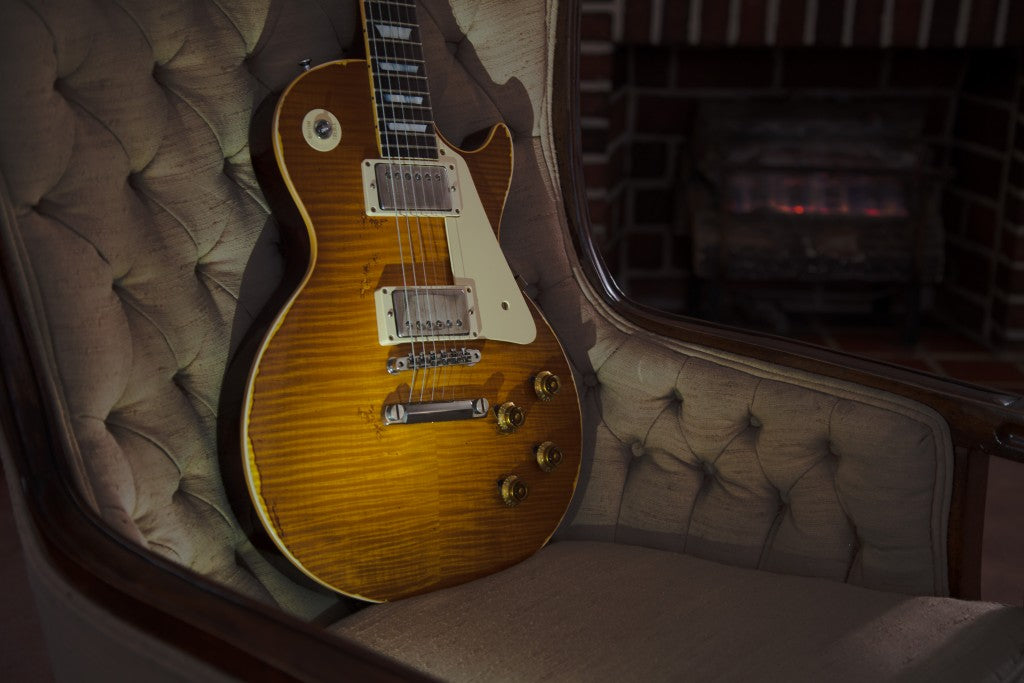 The Music Zoo Exclusive Gibson Custom Shop Roasted Les Pauls