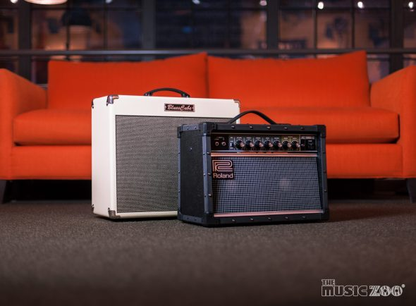 New At The Music Zoo! NEW Roland Jazz Chorus & Blues Cube Amplifiers!
