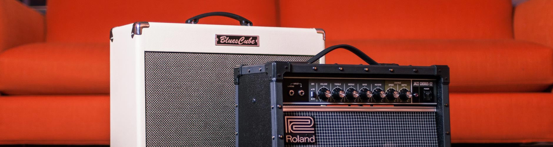 Roland Amps At The Music Zoo
