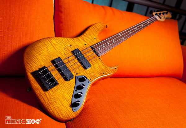 The Music Zoo is an Authorized Sadowsky Bass Guitars Dealer!