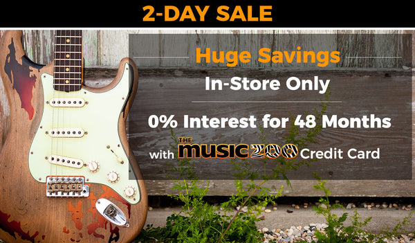 2-Day Sale at The Music Zoo This Weekend In-Store Only