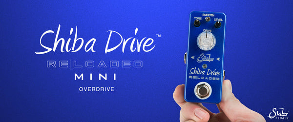 Suhr Announces New Shiba Drive Reloaded Mini Overdrive Pedal