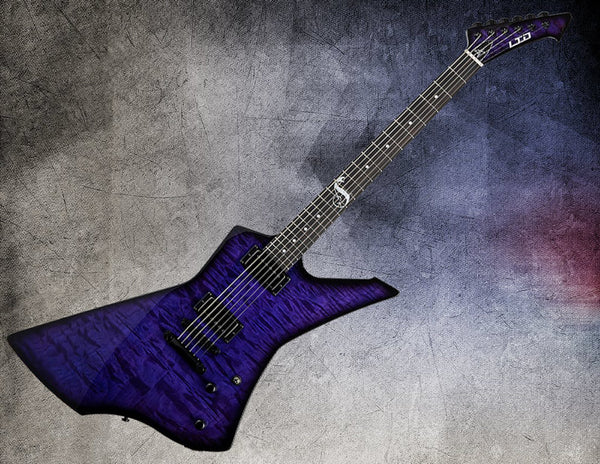 ESP Releases New James Hetfield LTD Snakebyte SE Baritone!