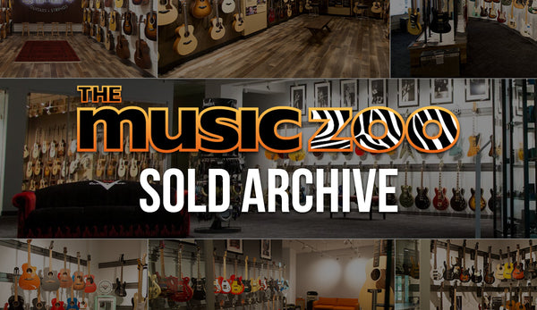 The Music Zoo Sold Guitars Archive: Find Endless Inspiration!