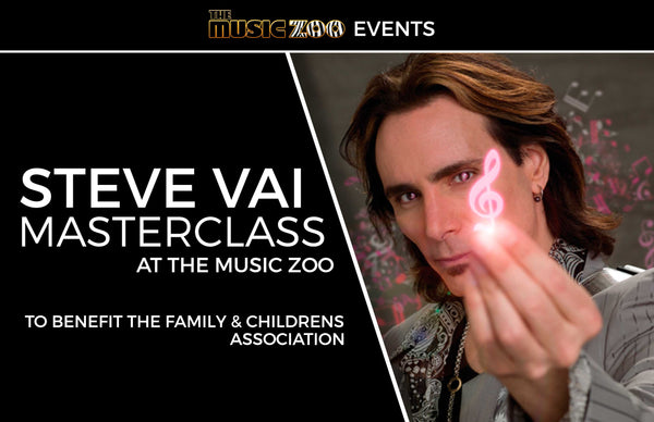 Steve Vai Masterclass At The Music Zoo