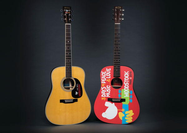 Martin Woodstock 50th Anniversary D35 & DX Guitars Released!