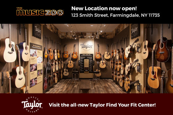 Taylor Find Your Fit Center The Music Zoo Farmingdale NY