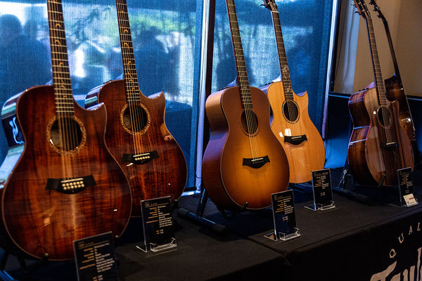 Taylor Limited Edition Display Guitars at NAMM 2019!