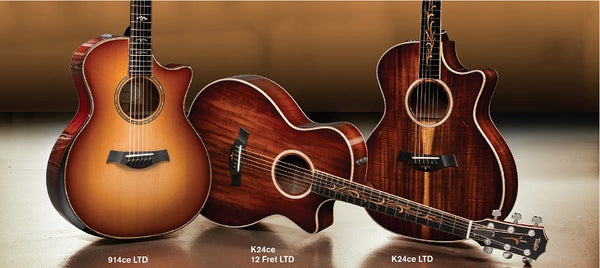 Taylor Guitars Has Announced Their Fall 2017 Limited Models Including A 914ce And K24ce 12 Fret 14 Read Below For The Full Details