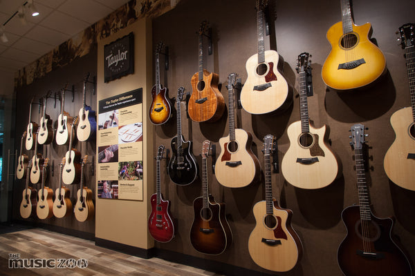 Taylor Find Your Fit Center At The Music Zoo Farmingdale NY