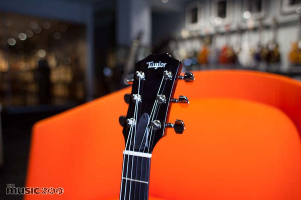 Taylor T5z Classic DLX Headstock The Music Zoo