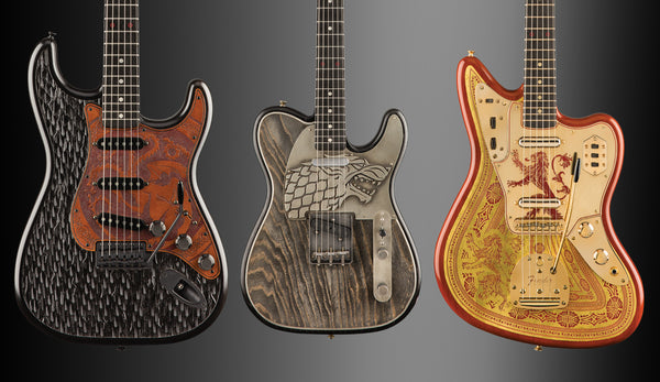 Game of Thrones and Fender Custom Shop Team Up for The Sigil Collection Limited Edition Guitars!