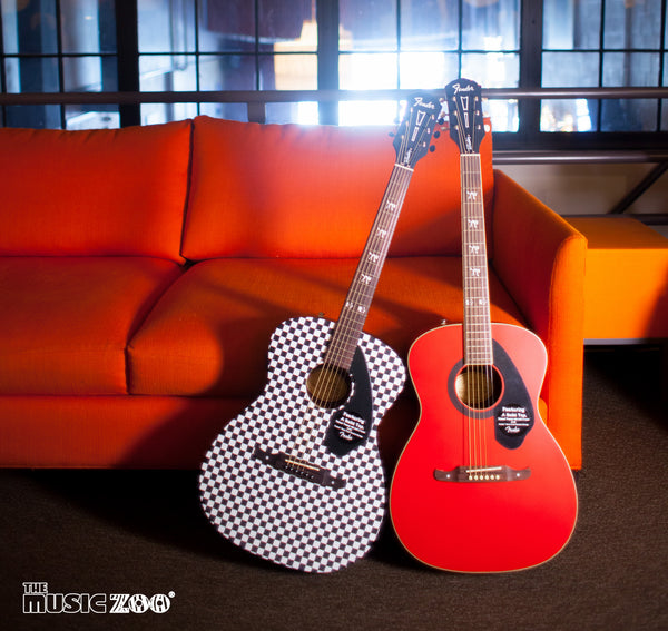 Fender Tim Armstrong Hellcat Limited Edition Acoustic Guitars!