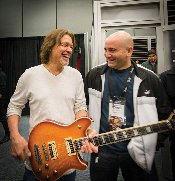 Tommy Colletti and Eddie Van Halen - The Music Zoo
