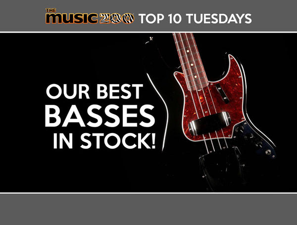 Top 10 Basses In Stock The Music Zoo