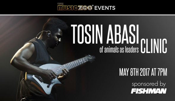 In-Store Events: Tosin Abasi Clinic At The Music Zoo!