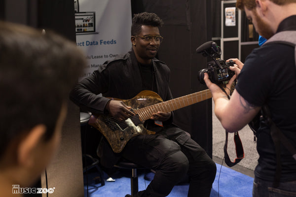Tosin Abasi Guitars Winter NAMM 2018