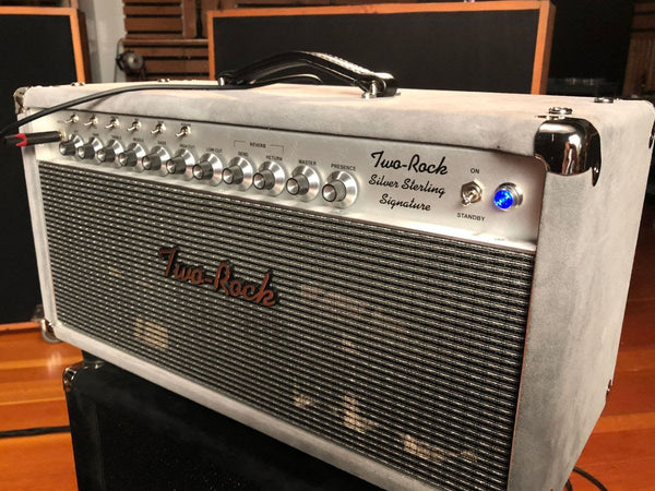 Two Rock Sterling SIlver NAMM 2019 - The Music Zoo