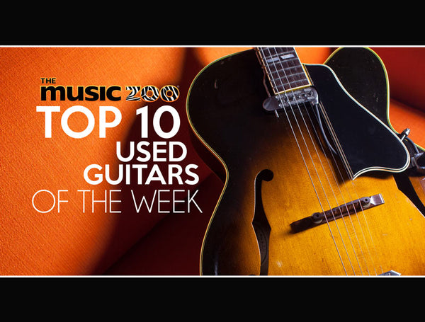 Top 10 Used Guitars At The Music Zoo April 5