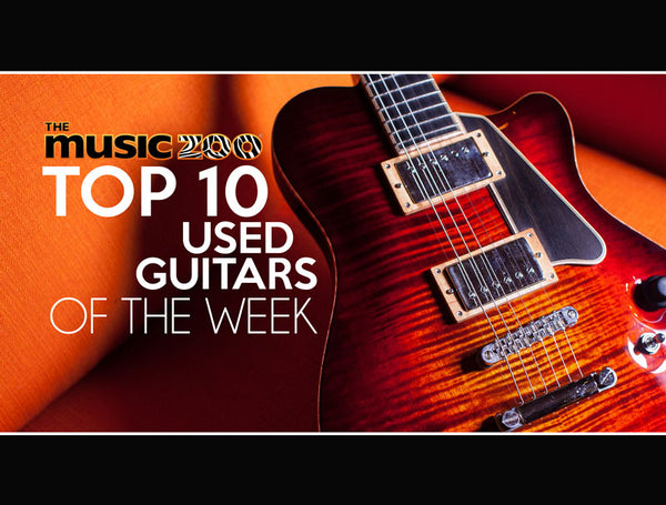 Top 10 Used Guitars At The Music Zoo: Week 2 of December 2018