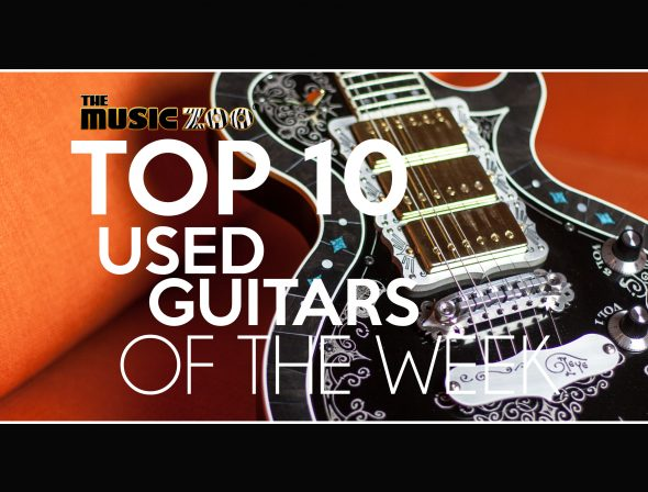 Used Guitar Picks of the week Jan 13
