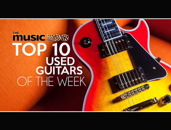 Top 10 Used Guitars At The Music Zoo: Week 3 January 2019!