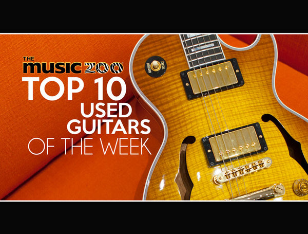 Top 10 Used Guitars At The Music Zoo: July Week 2 2019!