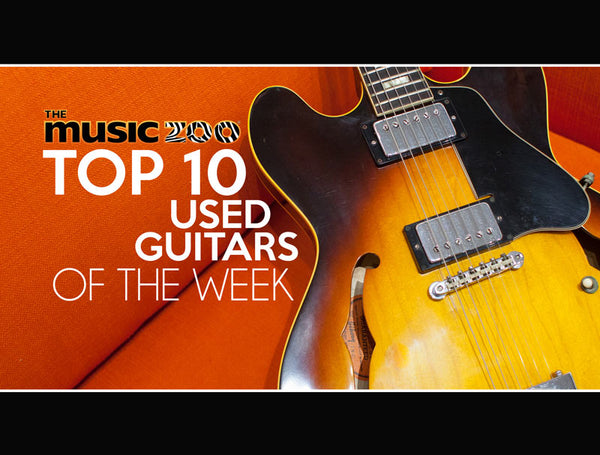 Top 10 Used Guitars At The Music Zoo: July Week 1 2019!