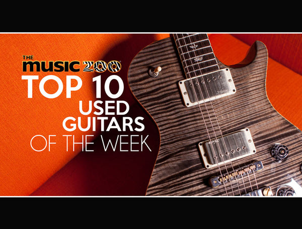 Top 10 Used Guitars At The Music Zoo March Week 4