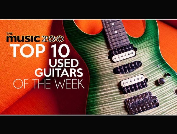 Top 10 Used Guitars The Music Zoo May 10