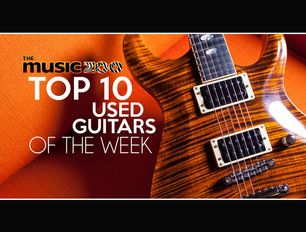 Top 10 Used Guitars The Music Zoo