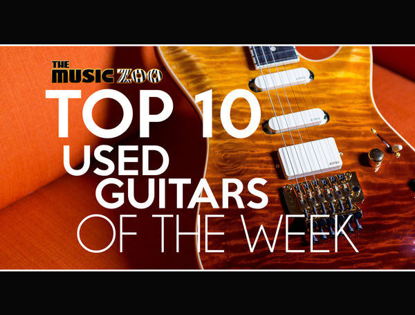 Top 10 Used Guitars AT The Music Zoo