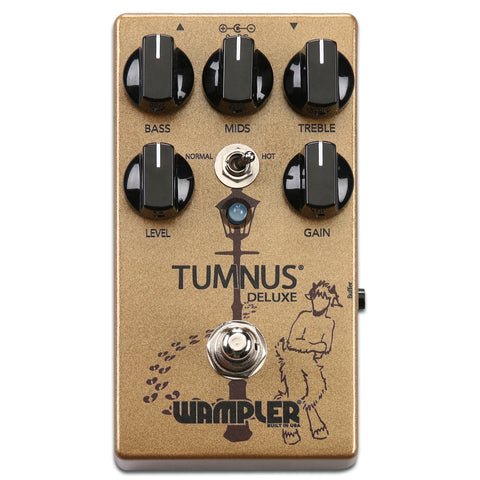 Wampler Tumnus Deluxe Transparent Overdrive Now Available!