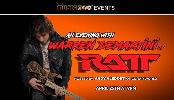 In-Store Event: Q&A With Warren DeMartini of RATT At The Music Zoo!