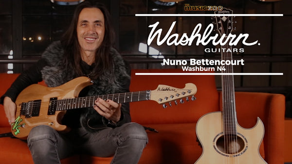 Nuno Bettencourt Visits The Music Zoo!