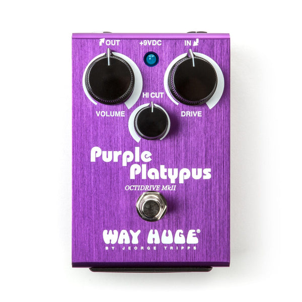 Way Huge Releases New Purple Platypus Octidrive MKII Pedal