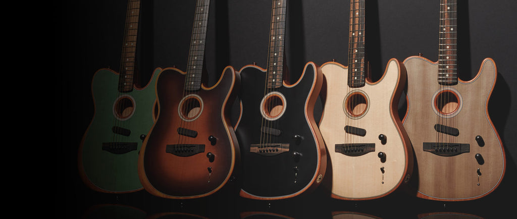 Fender Announces Usa Made American Acoustasonic Telecaster