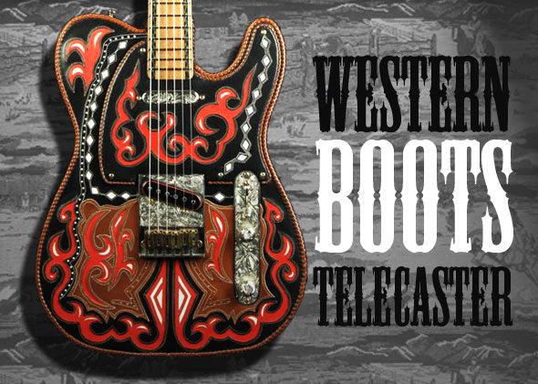 Photo Set: 1995 Fender Western Boots Telecaster