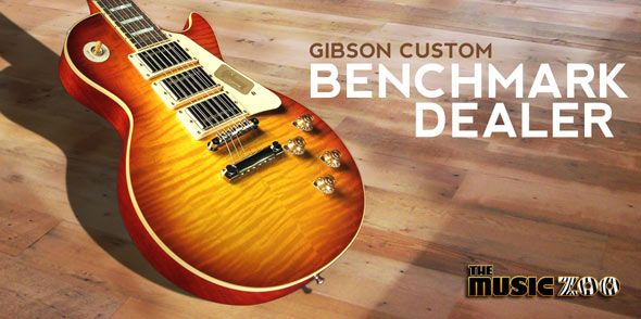 The Music Zoo Is A Gibson Custom Benchmark Dealer