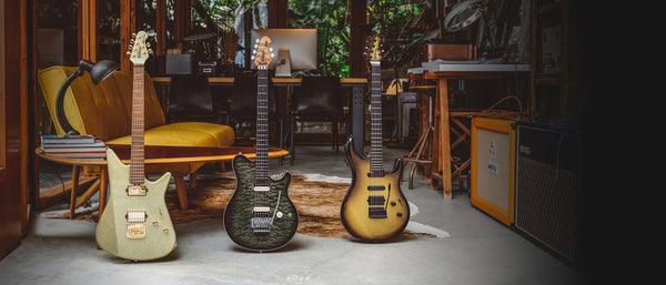 Ernie Ball Music Man June 2019 Ball Family Reserve Models!