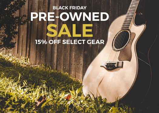 Black Friday Sale: 15% Off Select Pre-Owned Gear