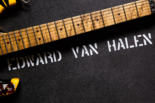 Up Close Photos and Video of the EVH '79 Bumblebee Tribute Relic At The Music Zoo!