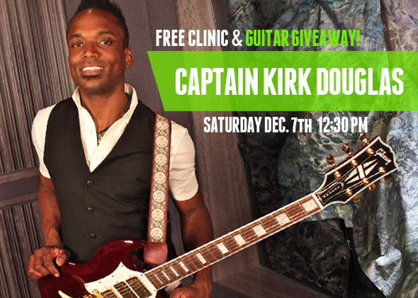 Clinic & Giveaway: The Roots' Captain Kirk Douglas