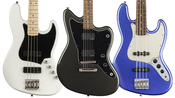 Summer NAMM 2018: Squier Bolsters Contemporary Series with Jazz Basses and a Jazzmaster