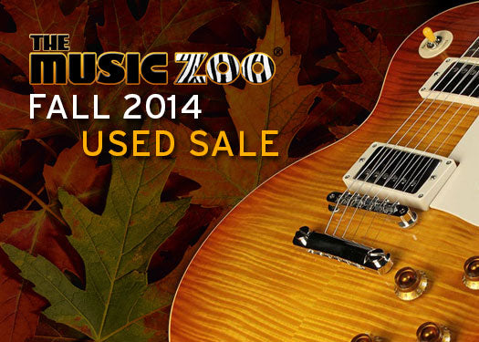 Fall 2014 Used Guitar Sale – Limited Time Only
