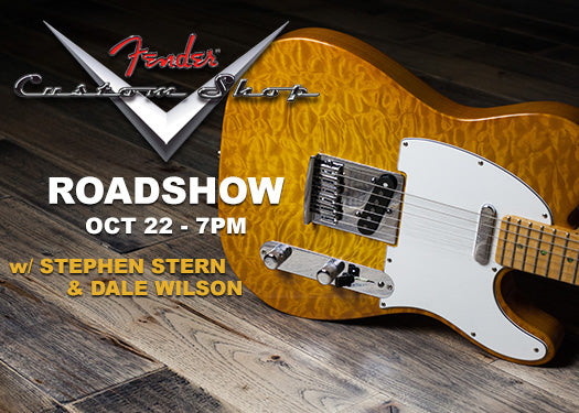 Fender Custom Shop Roadshow Event October 22nd at The Music Zoo