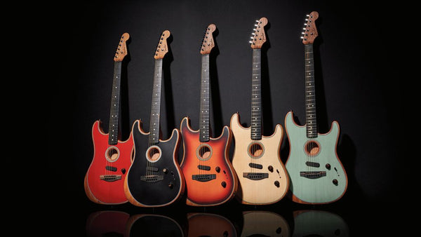Fender Acoustasonic Stratocasters - The Music Zoo